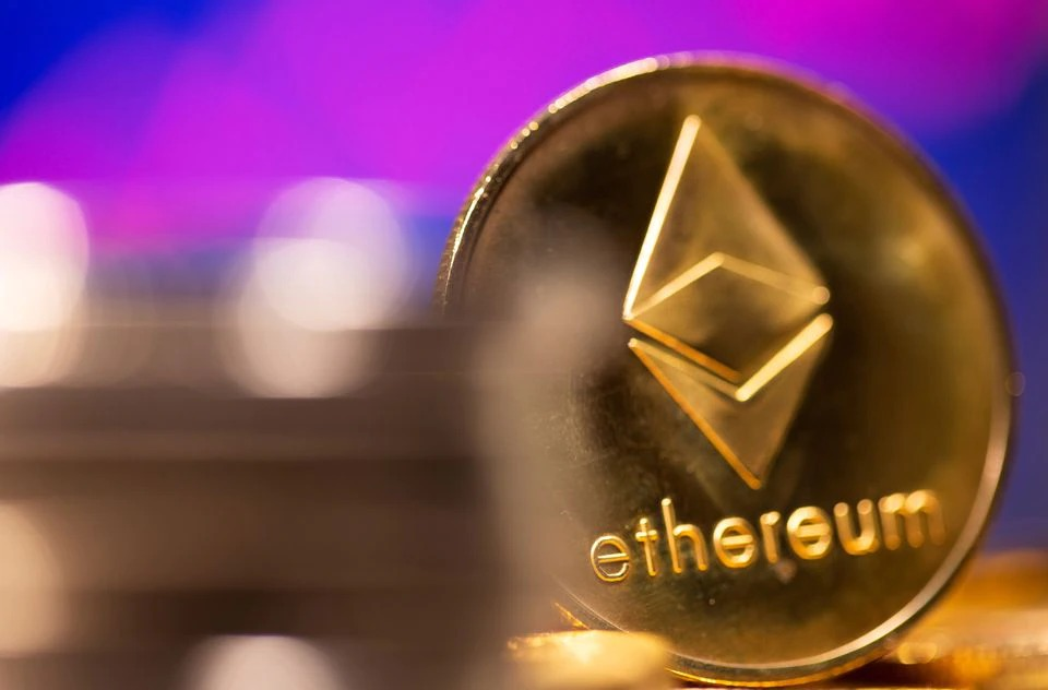 Cryptocurrency ethereum hits new record high again; dogecoin slumps